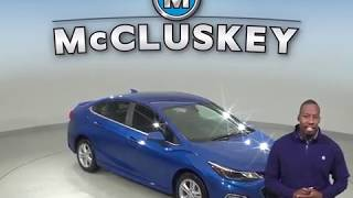 A99293NC Used 2016 Chevrolet Cruze LT FWD 4D Sedan Blue Test Drive, Review, For Sale -