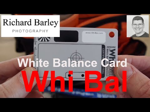 White Balance Card - Wedding Photography