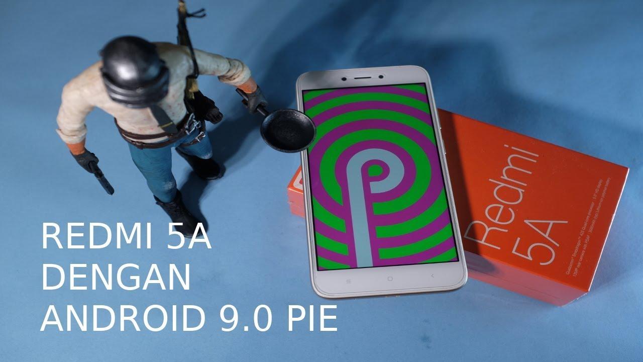 Redmi 5A Nitrogen OS Android 9 0 Pie
