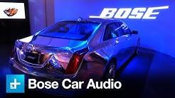 Bose engineers 4 tiers of car audio
