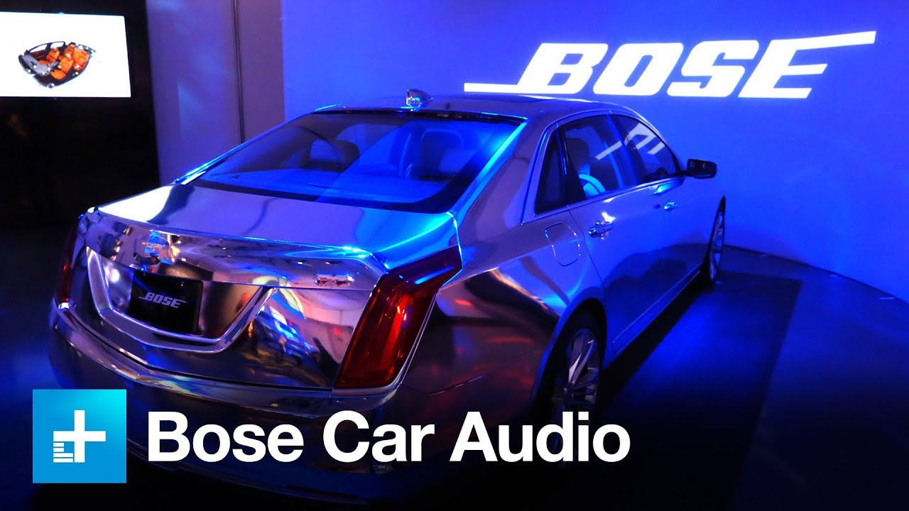 Bose Car Speakers >> Bose Engineers 4 Tiers Of Car Audio Youtube