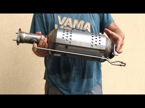Diesel Particulate filter FORD FOCUS 2.0 TDCI