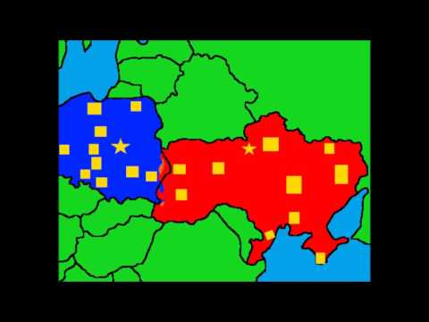 War simulation's Poland vs Ukraine