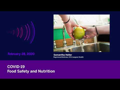 COVID-19: Food Safety and Nutrition