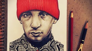 Tyler Joseph TWENTY ØNE PILØTS Timelapse Art