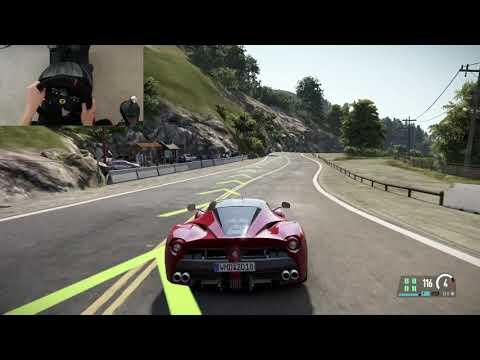 California highway-1 - Ferrari LaFerrari - Project Cars 2 - T300RS