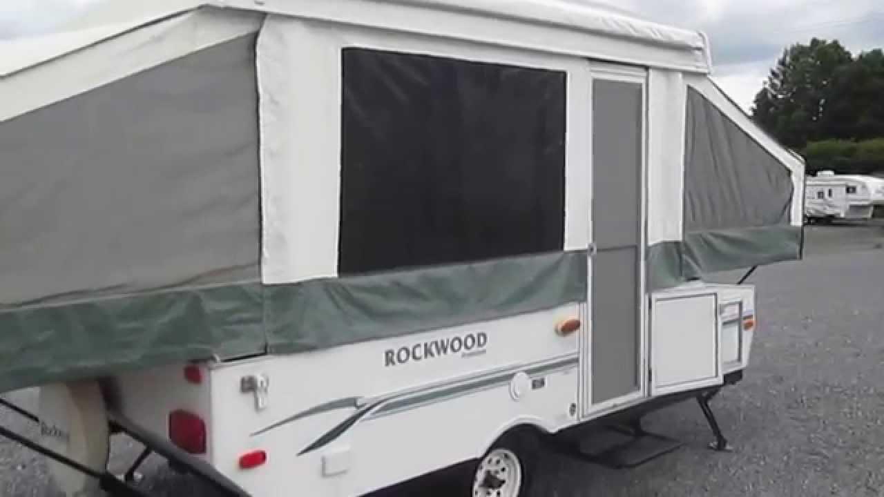 2006 Rockwood Freedom 1910 Pop Up Youtube