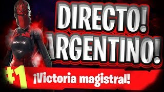 *RECRUITING PEOPLE FOR TOURNAMENTS *FORTNITE NIGHT!! GASTONYS GC- *DIRECT ARGENTINO