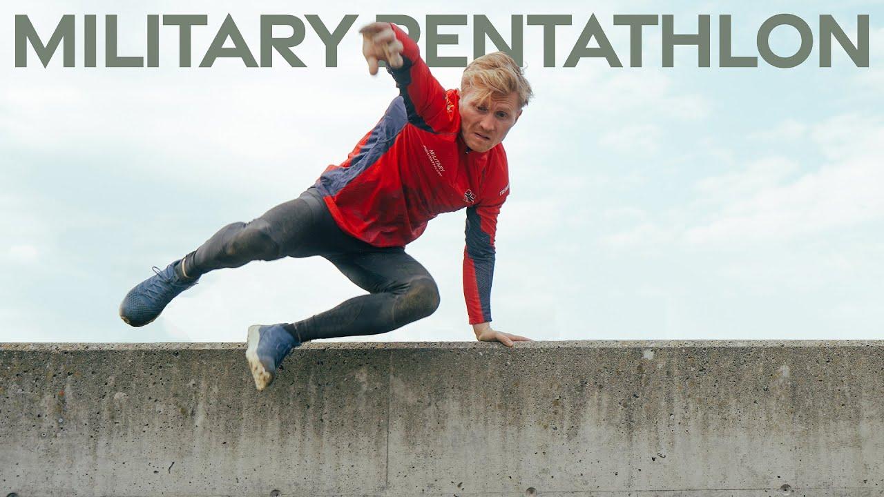 Insane Military Obstacle course! - Military Pentathlon