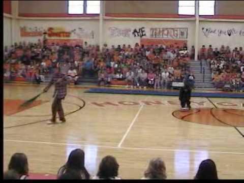 Honey Grove High School Homecoming 2009 Pep Rally: Mascot Skit