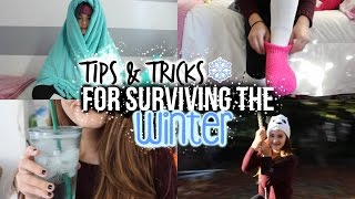 Tips & Tricks for Surviving the Winter! | Reese Regan Thumbnail