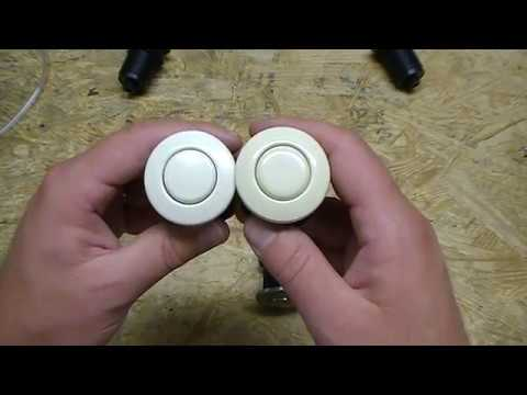 Len Gordon #15 Air Button
