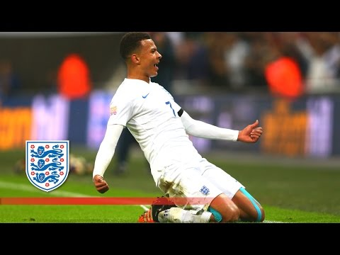 Dele Alli wonder strike - England 2-0 France | Goals & Highlights