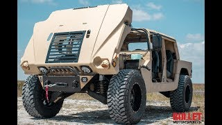 "Bullet Motorsports ""The Beastt"" Monster Humvee Build! [4K]"