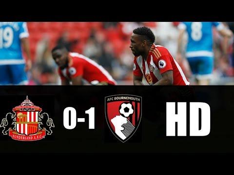 Sunderland vs Bournemouth 0-1 RESUMEN GOL 2017 HD