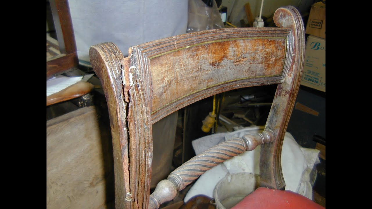 Chair Restoration French Polishing And Furniture Restoration Youtube