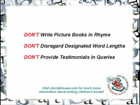 Writing Tips 4 Rules Beginning Children\u0027s Book Writers Should Never - book writing