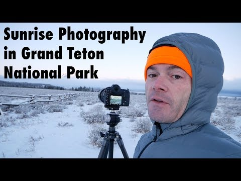Photographing Winter Landscapes in Grand Teton National Park