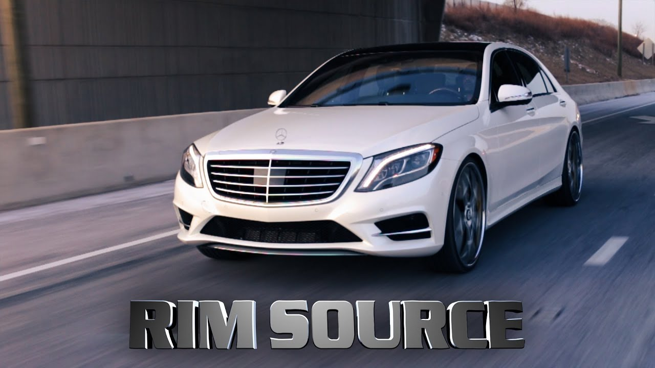 Mercedes S550 24 Forgiato GTR YouTube