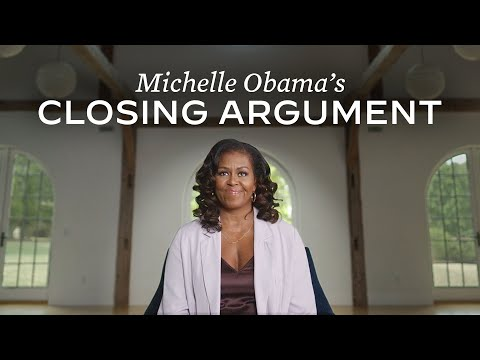 """Michelle Obama calls out Trump for being """"morally wrong"""" and racist in a new address"""