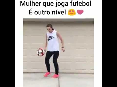 Mulher Que Joga Bola é Outro Nível Youtube