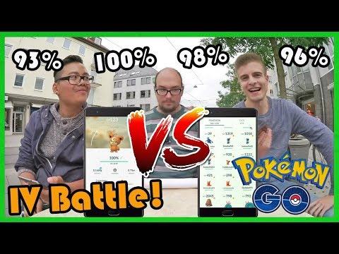Pokemon Go IV Battle vs Julian - 2. Generation! Pokemon Go!