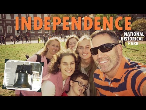 Independence National Historical Park - The Hall and the Bell (Vlog)