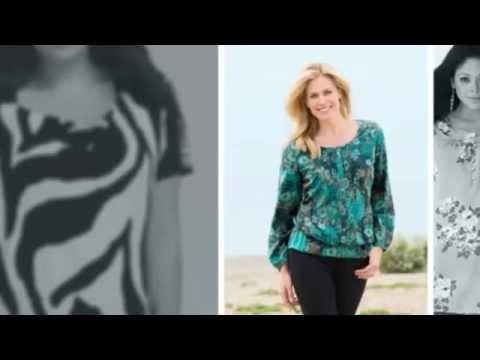 Блузки для полных женщин. Модные женские блузки 2014