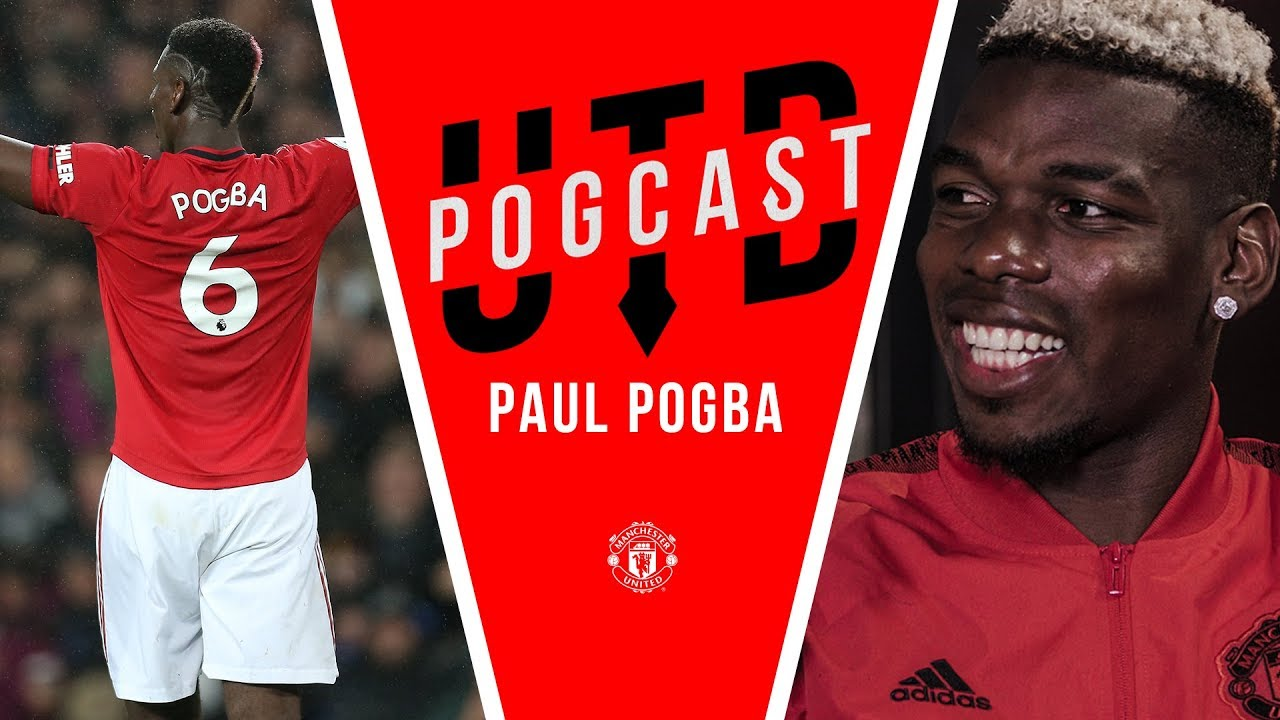 """""""Scholes and Pirlo taught me so much""""   UTD Pogcast   Paul Pogba"""