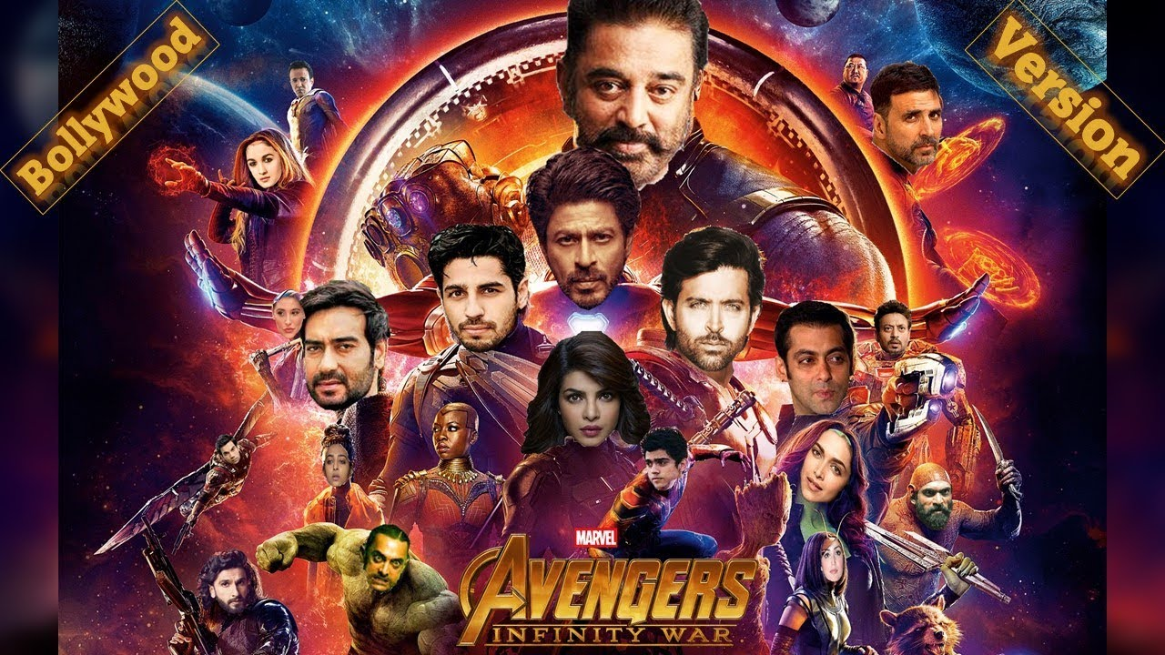 Bollywood Made Avengers: Infinity War - What If Indian Film Stars Were Cast  As The Avengers 3 Movie