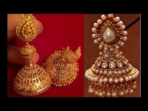 DIY jewellery making/JHUMKA DESIGNING/Quilling earrings designs/how to make jumka earrings