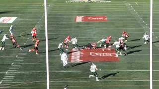 Paul Swiston highlight tape. University of Calgary Dinos football.