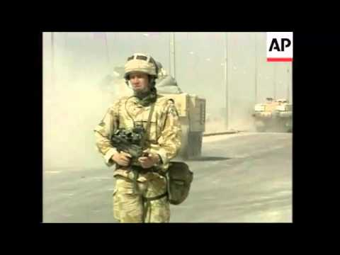 The Challenger 2 Tank In The Iraq War 2003-2005
