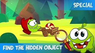 Find the Hidden Object Ep. 1 - Om Nom Stories: Little Red Hungry Hood