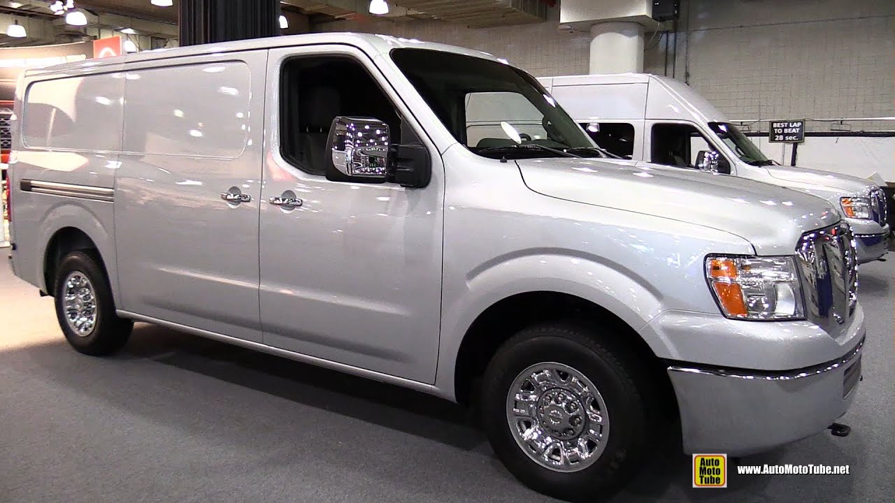 2015 nissan nv2500 hd commercial vehicle exterior and interior walkaround 2015 new york auto sho youtube