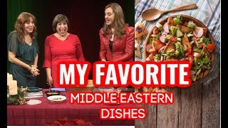 MY FAVORITE MIDDLE EASTERN RECIPES! PART 2 TELEVISED INTERVIEW