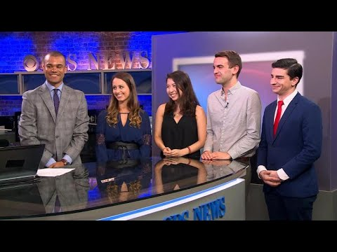 CBS News interns present their work