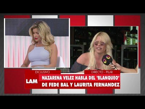 ¡Nazarena Vélez ninguneó en vivo a Laurita Fernández!