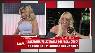 ¡Nazarena Vélez ninguneó en vivo a Laurita Fernández! thumbnail