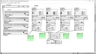 Drum Sler Sequencer in Pure Data