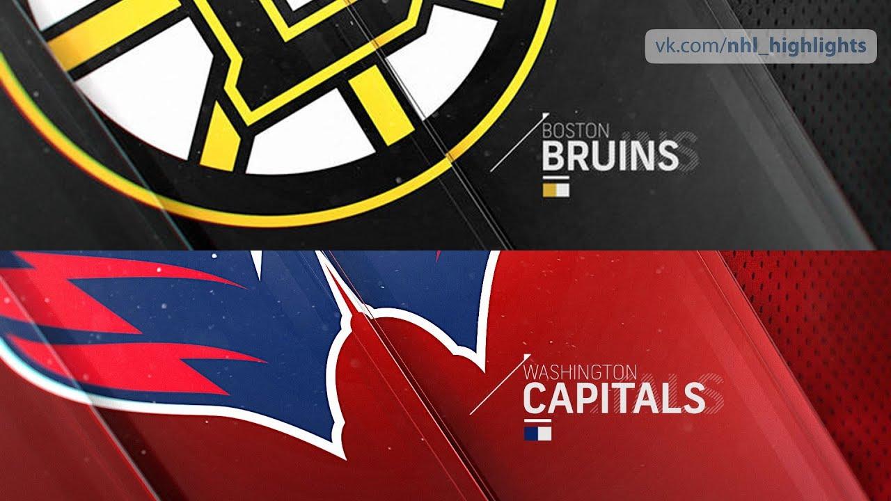 Boston Bruins vs Washington Capitals Oct 3 8925f76d6602