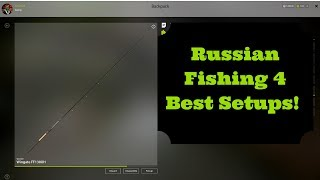 Russian Fishing 4 Best Setups Levels 16 to 30