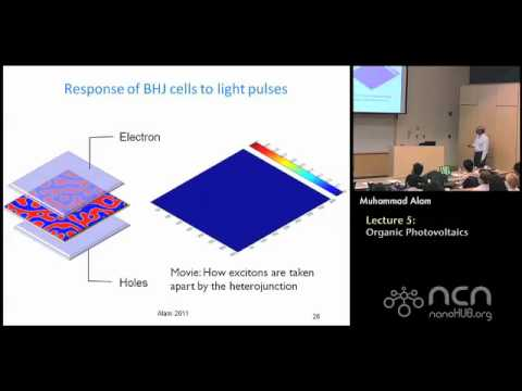 Solar Cells Lecture 5: Organic Photovoltaics