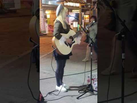 Ed Sheeran ☆Photograph☆ cover [홍대마녀해마] 20170420목 [Korean Hongdae Kpop Street Busking]