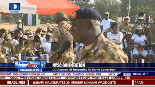 NYSC DG Assures Of Reopening Of Borno Camp Soon