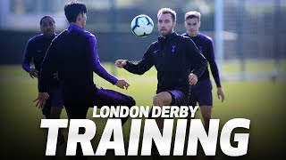 SPURS TRAIN AHEAD OF LONDON DERBY | RONDOS AT HOTSPUR WAY