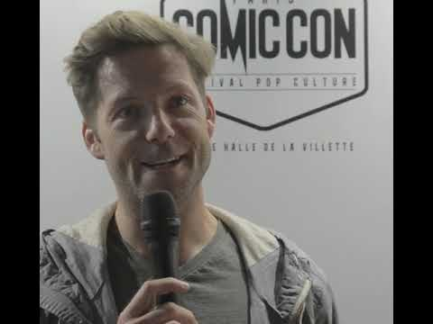 ITW Jamie Bamber Comic Con Paris 2017