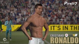 FIFA 17 TRIBUTE: Cristiano Ronaldo Goals & Skills REMAKE |Ballon d'Or Winner| 60fps - by Pirelli7
