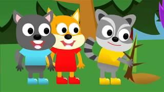 Веселий ліс (ліс) развивающий мультфильм 2017 на ютуб