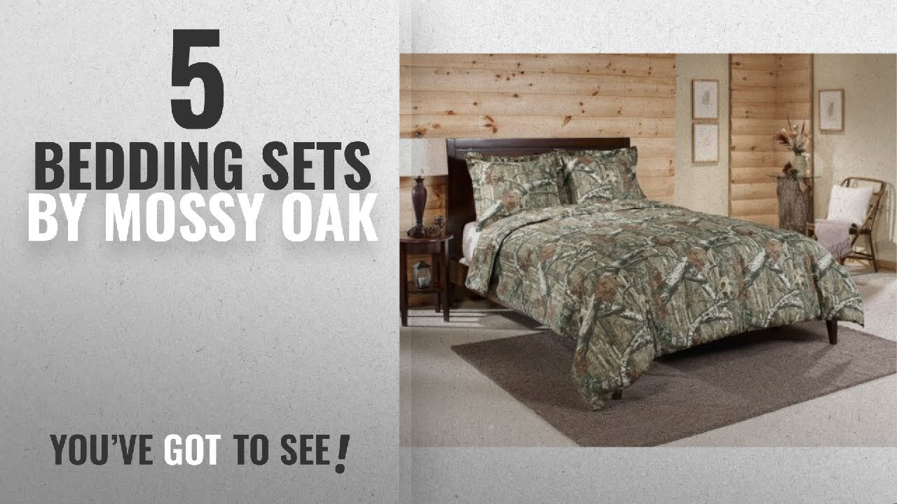 Top 10 Mossy Oak Bedding Sets [2018]: Mossy Oak Break Up Infinity Mini  Comforter Set, Queen
